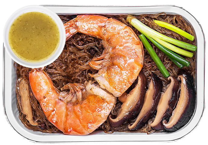 Baked Shrimp Vermicelli + Seafood Sauce