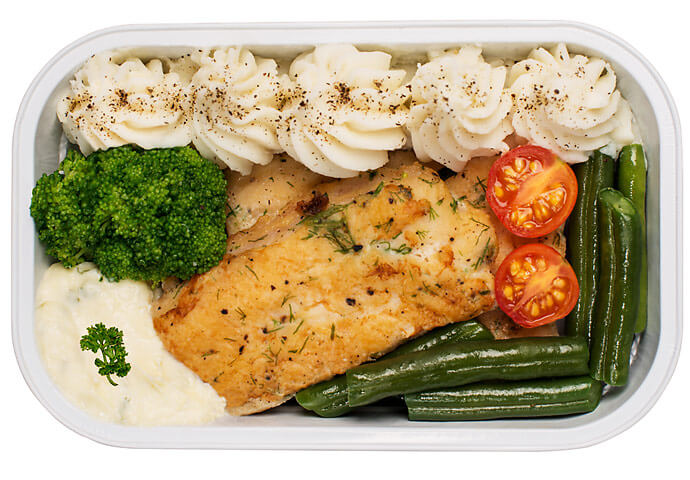 Grilled Basa Fish with Sauteed Vegetables