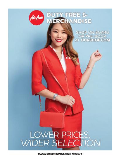 AirAsia Katalog Barang Bebas Pajak for Z2 flight
