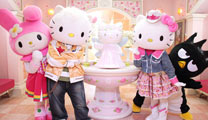 Book cheap flights to Johor Bahru and visit the Hello Kitty Town