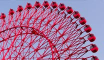 Travel to Osaka with cheapest airfare and visit Tempozan Ferris Wheel