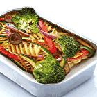 蔬菜意大利面 (V)