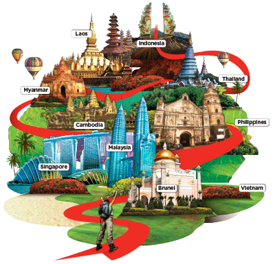 AirAsia Asean Pass Map