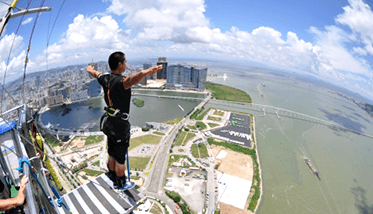 AJ Hackett Attractions at Macau Tower