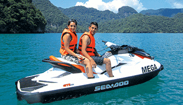Langkawi Mega Water Sports Jet Ski Tours