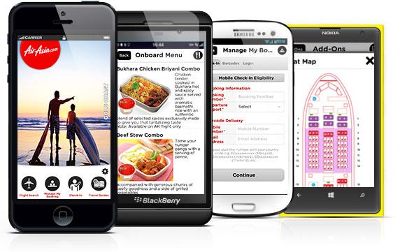 AirAsia Mobile App