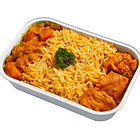 ข้าวหมกกับแกงเนยไก่มาซาลา Ashok's