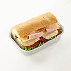 Deli Chicken Focaccia Bread Sandwich