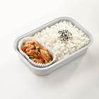 韓式泡菜炒雞肉配米飯