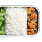 Rice with Shrimp and Bok Choy