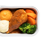 Roasted Stuffed Chicken with Mushroom Tarragon Sauce