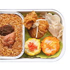 Glutinous Rice with Chicken and Dim Sum Combo