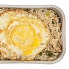 Chicken Fried Rice with Fried Egg