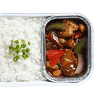 Kung Pao Chicken with Rice