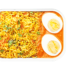 Hyderabadi Murgh Biryani with Tale Ande Ka Salan