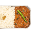 Chicken Curry with Steamed Rice