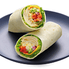 Sesame Chicken Wrap