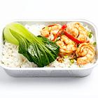飯蝦和白菜