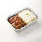 香烤雞配糯米飯