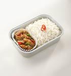 泰式羅勒辣炒雞肉配米飯
