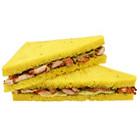 Chicken Tikka Sandwich with Mint Mayo