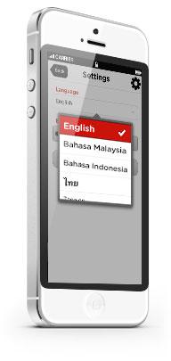 8 different languages