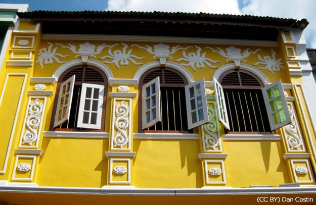 Thị Trấn Phuket Cổ Xưa