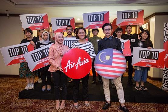 AARRDS 2016 Top 10 Malaysian Finalists