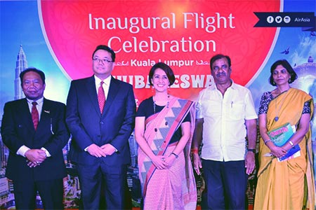 AirAsia marks another milestone as the first international airline to land in Bhubaneswar, India