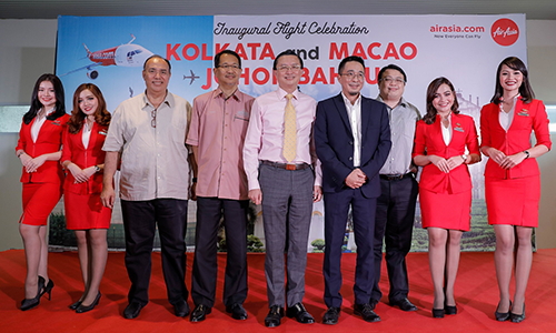 AirAsia celebrates two international inaugural flights into Johor Bahru