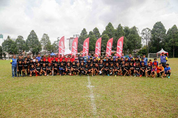 AirAsia develops young talents with PJ Rangers Junior Tryouts