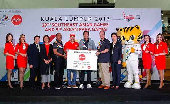 AirAsia Flies The SEA Games And Asean Para Games