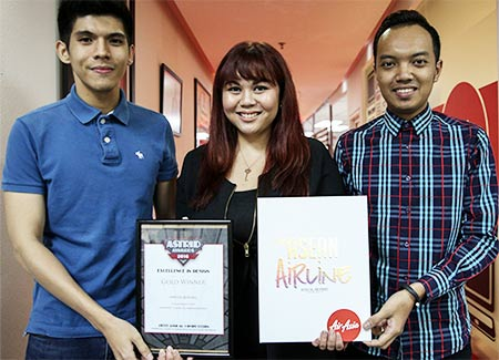 AirAsia brings home Gold from ASTRID Awards