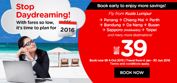 Book Airasia Promotion Ticket