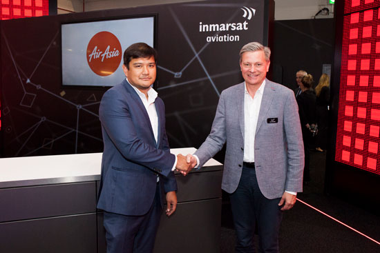 AirAsia Upgrades to Inmarsat GX Aviation Inflight Broadband