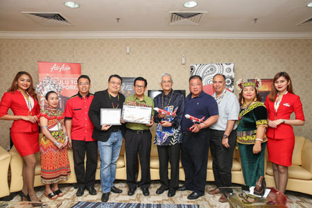 AirAsia welcomes two international inaugural flights into Sarawak