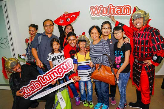 AirAsia-X-celebrates-direct-flights-to-Wuhan