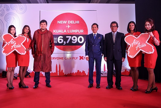 AirAsia X now connects Kuala Lumpur direct to New Delhi