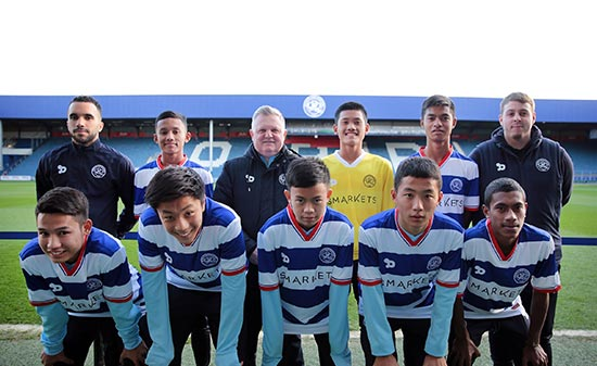 AIRASIA-QPR CLINIC WINNERS OFF TO LONDON