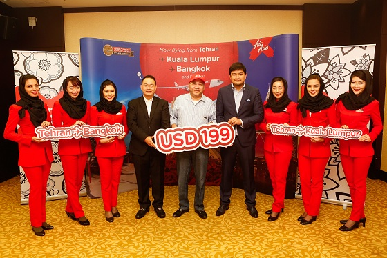 Photo 1 - AirAsia X now flies direct to Tehran