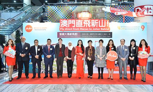 AirAsia celebrates two international inaugural flights into Johor Bahru