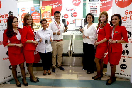 """AirAsia further enhances its Self-Service options with introduction of the """"Self Bag-Drop"""" and """"Home Tag"""" feature"""