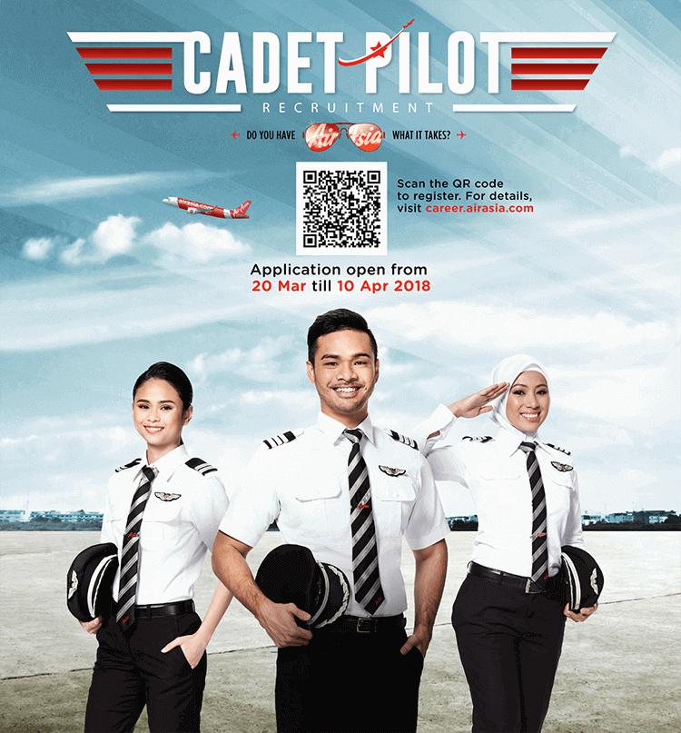 AirAsia Cadet Pilot Recruitment
