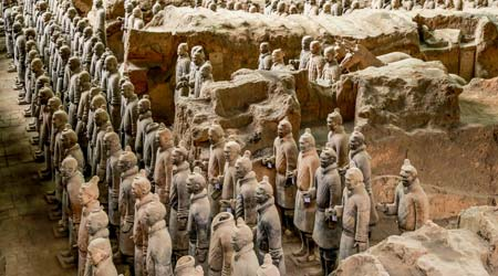 The Terracotta Warriors and Horses, Xian
