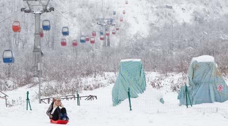 Xiling Snow Mountain, Chengdu