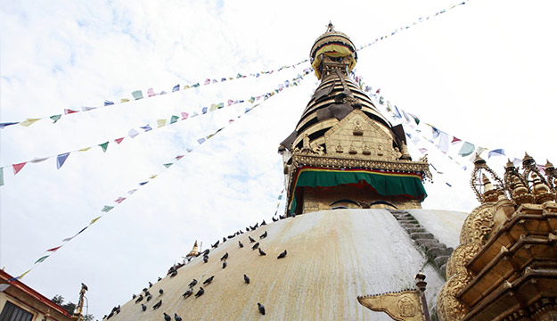 Swayambunath Stupa