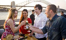 Sydney: Food and wine