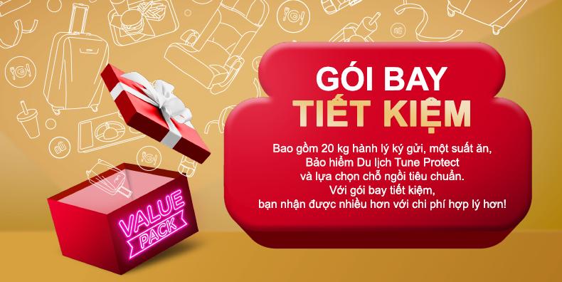 Hướng dẫn đặt gói Value Pack, bữa ăn Santan khi bay AirAsia và thanh toán trên Payoo