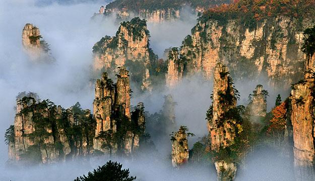 Wulingyuan, Zhangjiajie