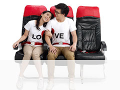 2x AirAsia BIG Points Seat